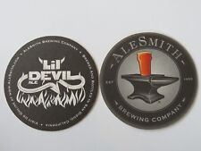 Cool Beer Coaster ~ ALESMITH Lil Devil Belgian-Style Ale; San Diego, CALIFORNIA