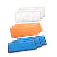 9x Washable Damp Wet Dry Mopping Pads For iRobot Braava jet 240 241 Robotic Home