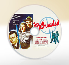 Railroaded (1947) DVD Classic Crime Drama Movie / Film John Ireland Sheila Ryan