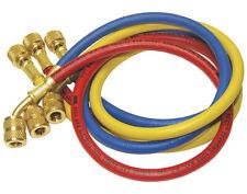 Manifold Gauge Set Hvac Ac Refrigeration Charging Hoses 60 R12 R134a R22 Ampmore