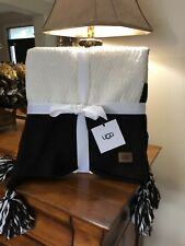Ugg Blanket Nwt Black And White
