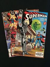 Superman #'s 46 - 48 DC Comics 1990