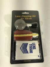 Nikon lens cleaning kit new sealed vintage camera accessories