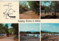 ALPES DE HAUTE-PROVENCE VALENSOLE camping rivière et colline