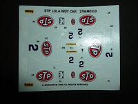 STP GRANATELLI RACING 3 LOLA 89 WATERSLIDE DECAL INDY CAR CART MONOGRAM 1/24