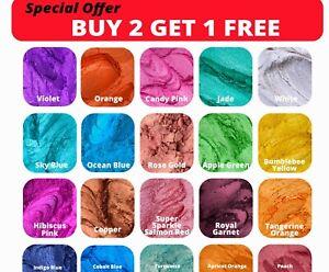 Super Premium Pearl Shimmer Mica Powder Metallic Epoxy Resin Pigment Dye 10g
