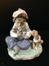 Lladro 5450 I Hope She Does Excellent Condition