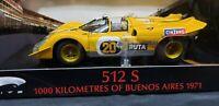 FERRARI 512 S ELITE #20 1000KM BUENOS AIRES 1971 1/18 MODEL CAR HOTWHEELS T6929