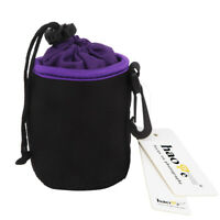 Camera Lens Pouch Bag Soft Case for Nikon Nikkor 50mm F1.8 F1.4 18-55mm S Size