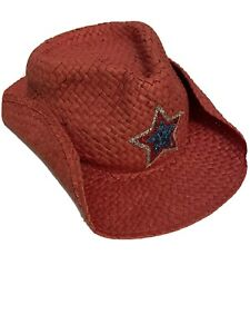 Gymboree Toddler Cowgirl Hat Cowboy 3T 4T 4th Of July
