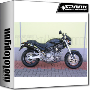 SPARK EXHAUST HIGH RACING ROUND DARK STYLE DUCATI MONSTER 620