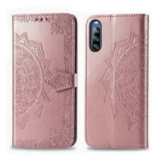 For Sony Xperia 1 10 II Phone Case PU Leather Magnetic Flip Wallet Stand Cover