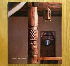 FECHIN: THE BUILDER by Eya Fechin / First Edition  (SIGNED)
