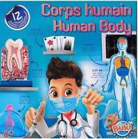 Buki France 2114 - Corpo humano - ESPERIMENTI CORPS HUMAIN, BUKI SCIENCES