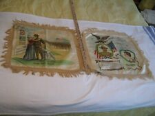 Wwi Military Pillow Covers=2 Total