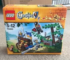 New In Box Lego 70400 Forest Ambush Castle Knight Rescue Treasure Dog Mace