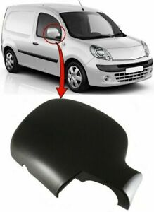 Renault Kangoo 2009-2013 Door Wing Mirror Cover Black Driver Side Right New