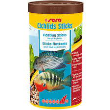 Sera Cichlid Sticks 1000mL 7.4oz Floating Fish Food Fast Free USA Shipping