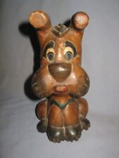 Antique Vintage Walt Disney Wooden Dog Toy 1920's-1930's RARE !