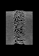 More details for joy division printed metal sign a4 a5 plaque cave bar shed pub music band poster