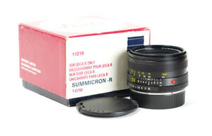 Leitz Summicron R 2/50mm f/2.0 50mm 2nd Version for Leica R No.3083899 Boxed A+