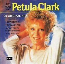 PETULA CLARK Most of Petula Clark 20 Original Hits Australian EMI 1994 CD 20 tks