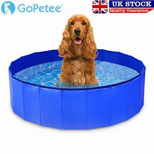Pet Bath Pool Portable Foldable PVC Swimming Pool Dog Paddling Bathing Water Tub
