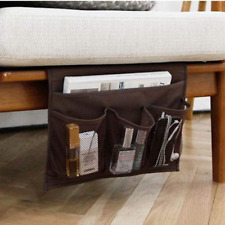 Bedside Storage Organizer Couch Remote Control Caddy Bed Table Holder Pockets