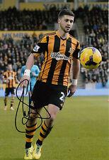 Hull City Hand Signed Shane Long 12x8 Photo 4.