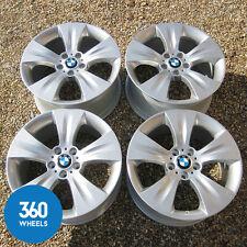 "GENUINE BMW X5 19"" E70 213 STAR 5 SPOKE ALLOY WHEELS M SPORT 6772248 6772247"