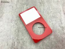 red front faceplate housing case cover for ipod 5th gen video 30gb 60gb 80gb