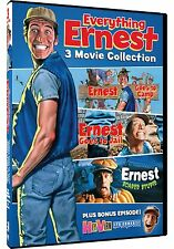 EVERYTHING ERNEST: 3 FEATURE FILMS / BONUS EPISODE - DVD - Sealed Region 1