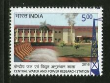 India 2016 Central Water & Power Research Station Dam Energy Stamp 1v MNH