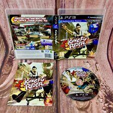 Kung FU RIDERS MOVE compatible PS3 Video Juego Playstation 3 rápida libre Post Wow