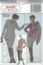 burda 4141 Misses' Jacket, Skirt & Blouse 10 to 22 *Ex Rare*  Sewing Pattern