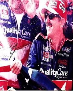 DALE JARRETT SIGNED AUTOGRAPH 8X10 PHOTO PICTURE IMAGE NASCAR #2