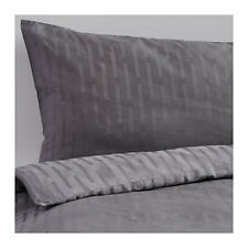 IKEA STRANDGYLLEN - Duvet Cover and Pillowcase Twin Size Gray Modal Lyocell