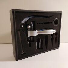Coffret tire bouchon à levier WINE vin alcool gastronomie design XX France N3432