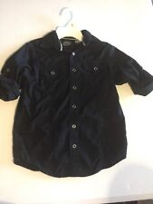 First Wave Black Long Sleeve Boys Shirt Size Small