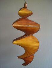 Länge 45 cm Windspiel aus Holz Holzspirale Lasur: Mahagoni Windspirale