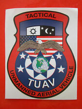 AUTOCOLLANT STICKER AUFKLEBER ARMY TUAV TACTICAL UNMANNED AERIAL VEHICLE DRONE
