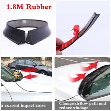 1.8M Car SUV Front Windshield Rubber Seal Strip Trim Water Air Deflector Spoiler
