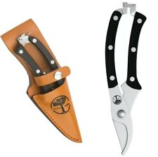 Bypass Pruners The Perfect Hand Garden Pruner Shears With Leather Sheath New