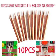 10pcs Spot Welding Pin Alumina Copper Welding Accessories For Welder Machine