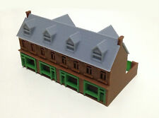 House Plastic N Scale Model Train Buildings, Tunnels