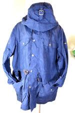 HACKETT London Blue Hooded Rain Windbreaker Jacket XXL XL $460