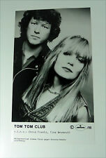 TOM TOM CLUB (Talking Heads) 80s PRESSE Foto SET CARD Photo PICTURE Promo