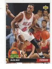 1992-93 UPPER DECK BASKETBALL ALL-DIVISION TEAM GLEN RICE #AD3 - MIAMI HEAT