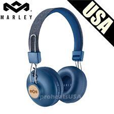 House of Marley, Positive Vibration 2 Wireless Headphones Noise isolating Denim