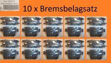 10 x Bremsbelagsatz Hinterachse FORD Mondeo III / Kombi / Stufen JAGUAR